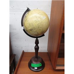 "20"" Tall Spinning World Globe"