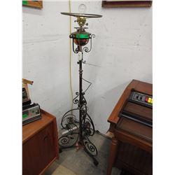 Fabulous Vintage Wrought Iron Floor Lamp