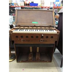 Antique Folding Pump Organ