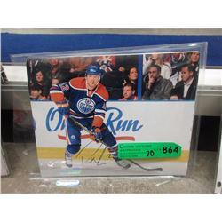 20 Autographed Edmonton Oilers Photographs