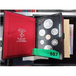 1975 Royal Canadian Mint Specimen Set