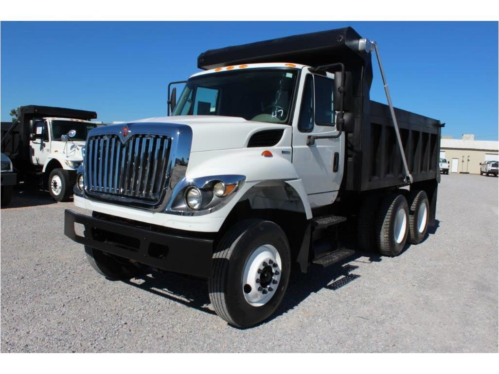 2011 INTERNATIONAL 7400 WorkStar Dump Truck, VIN/SN:1HTWHAAR0BJ336981 -  T/A, 7 6L 300 HP Int  Maxxfo