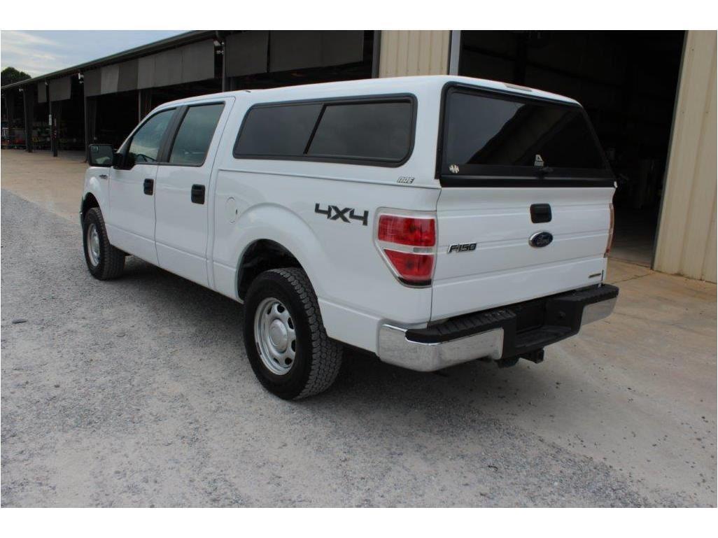 2014 Ford F150 Pickup Truck Vin Sn 1ftfw1ef7eke58383 4x4 Crew Cab V8 Gas A T Ac Camper Shell