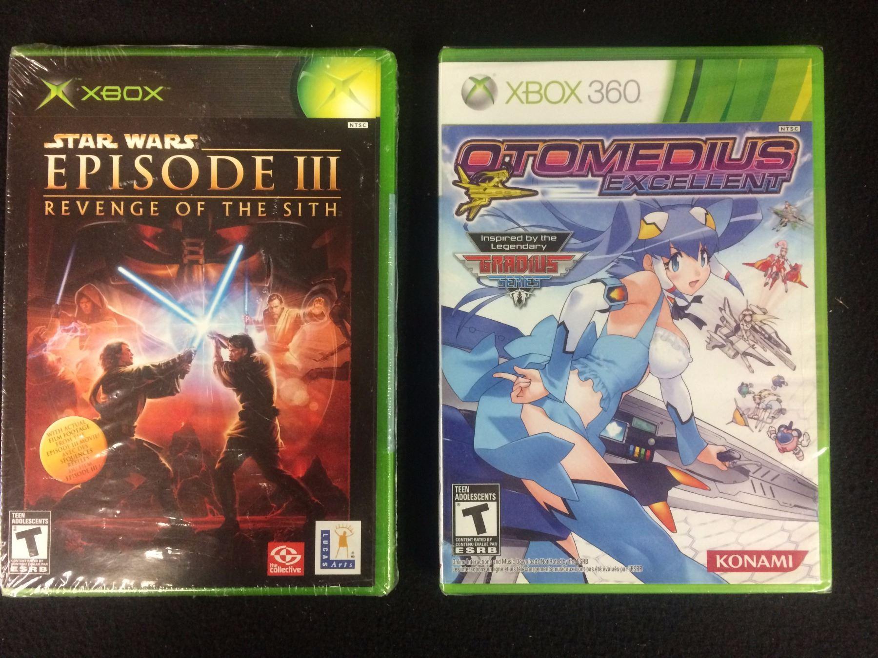 Xbox Xbox 360 Video Game Lot Star Wars Episode 3 Otomedius