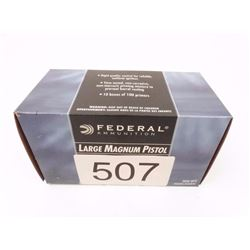 Federal large magnum pistol primers