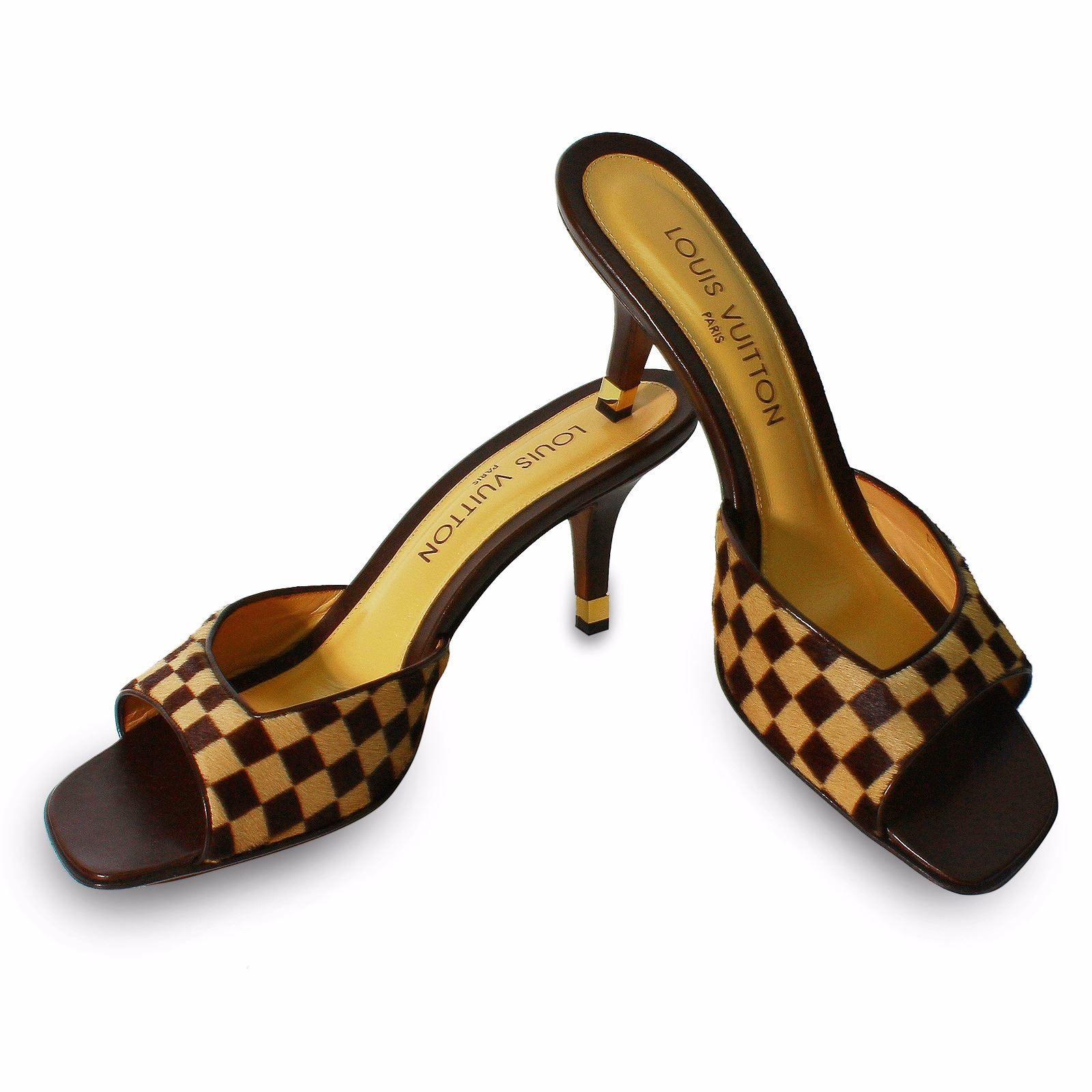 d815b2ae52aa Image 1   Louis Vuitton Damier Sauvage Shoes Sz 39.5 -  611 ...