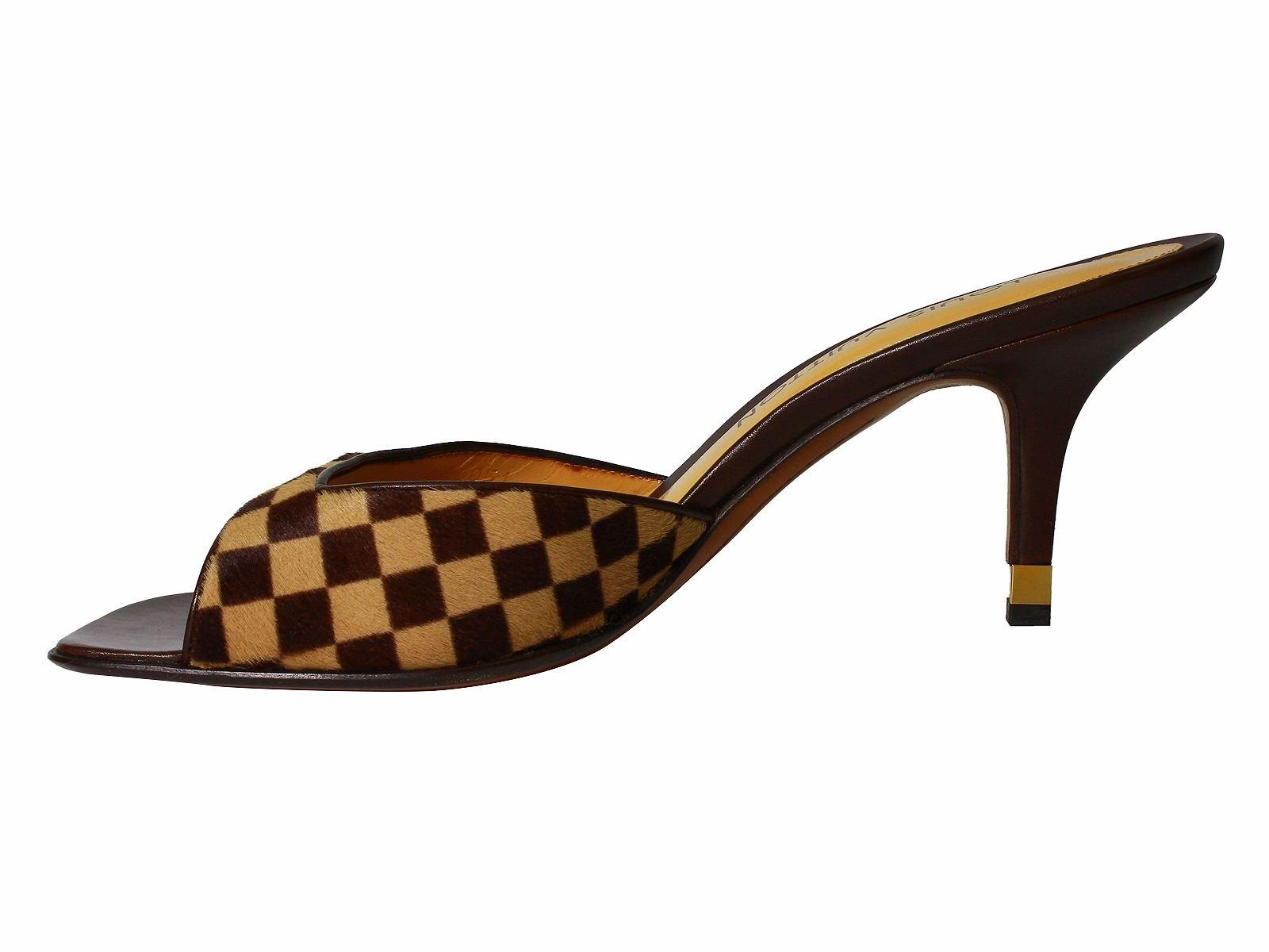 a9c2a65d74ca ... Image 2   Louis Vuitton Damier Sauvage Shoes Sz 39.5 -  611 ...