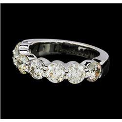 2.82 ctw Diamond Ring - 14KT White Gold