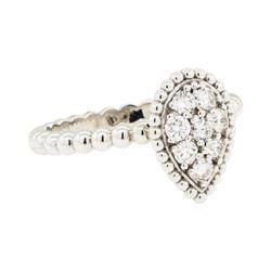 0.39 ctw Diamond Ring - 14KT White Gold