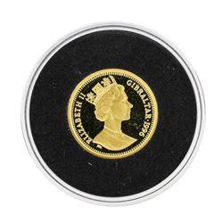1996 Gibraltar 35 Ecus Gold Coin