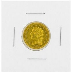 1834 $2.50 Classic Head Gold Coin
