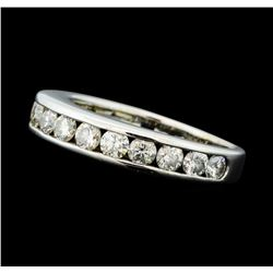 0.80 ctw Diamond Band - 14KT White Gold
