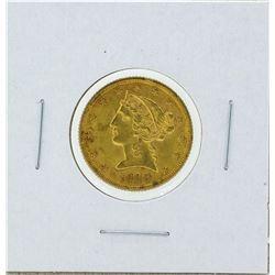 1900 $5 Liberty Gold Coin BU