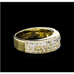 2.15 ctw Diamond Ring - 14KT Yellow Gold