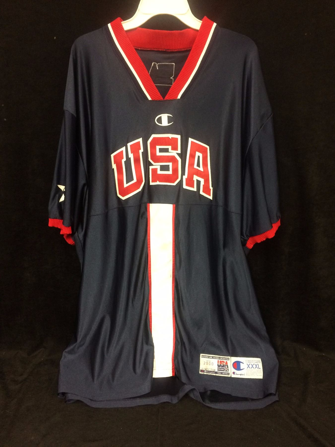 official photos 843aa b9ffb Official Vince Carter game used warm uo top Team USA Olympics with coa
