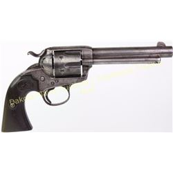 """Colt Bisley .41 cal. SN 219458 SA revolver with 5 1/2"""" barrel blue finish with Colt hard rubber grip"""
