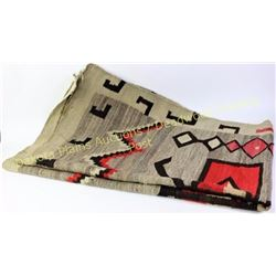 C. 1920's -1930's Navajo rug showing used but generally good condition, some fray to edges and overa