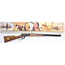 Winchester 1894 38-55 SN CCH9243 lever action rifle Chief Crazy Horse commemorative with original bo