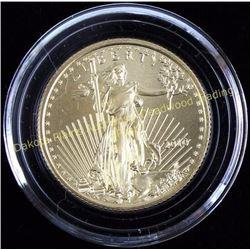 2010 American Eagle Gold $10. Est. 175-375