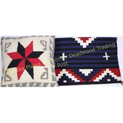 Collection of 2 includes nice contemporary Navajo rug purchased on reservation north of Gallup, New