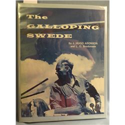 Aronson, Hugo, THE GALLOPING SWEDE, 1st, VG/G signed, Mountain Press, 1970