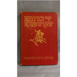 Coburn, Wallace D, RHYMES OF A ROUNDUP CAMP,  revised ed, Russell Illus,        G P Putnam 1903