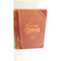 Leeson's HISTORY OF MONTANA, 1739- 1885, 1st, fair, leather, with INDEX