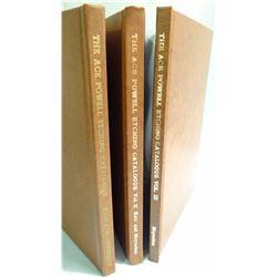 Moynahan &Anita Kair, THE ACE POWELL ETCHING CATALOUGE,  3 Vol set wslipcases Vol  I  #8/35 w/ orig