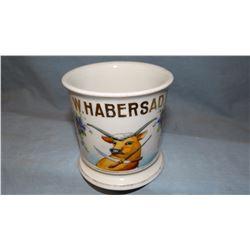 Early Butchers Occupational shaving mug