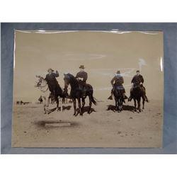 "Buffalo Bill Cody original photo, 9"" x 12"""