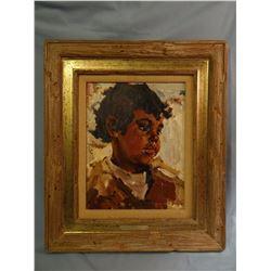 Schildt, Gary, 11 x 14, Mingo (oil)