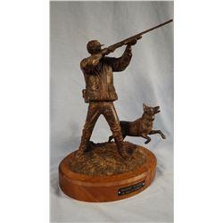 "Lillegard, Steve bronze, Hunting Buddies, #3/25, 13"" h"