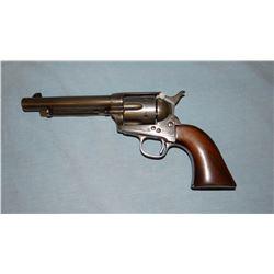 "Colt Artillary U. S., .45 cal. black powder, 5 1/2"" bbl, stamped U. S., SN 119900, mixed numbers"