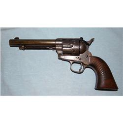 Colt Artillary U. S., .45 black powder revolver, SN 17185, mixed numbers,