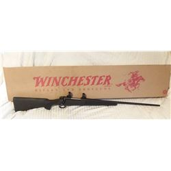 """Winchester 70 7 mm Mag, NIB, 26"""" bbl., synthetic stock, scope rings, SN G2330070"""