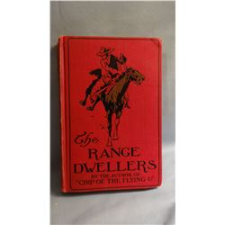 Bower, B. M., THE RANGE DWELLERS, 1st, G/, signed by author,  Russell Illus. Dillingham, 1907, from