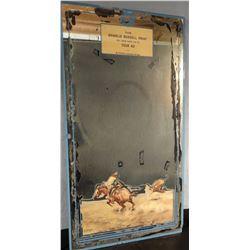 1949 CMR mirror calendar, salesmen's sample