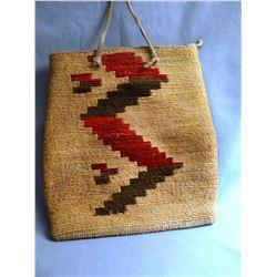 "Corn Husk Bag, 9"" x 8"""
