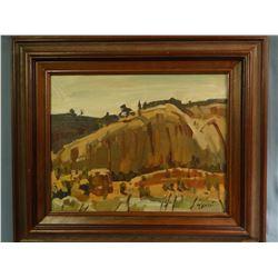 Schildt, Gary, 11 x 14, Toward Ft. Defiance, Window Rock, AZ (oil study)