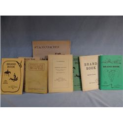 5 books: Badger,  Borein, Brantly, Bruffy