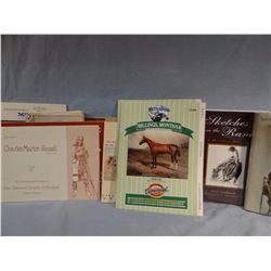 Collection of pamplets & books: Merriam, Harold, Shoemacher, Aadland, Russell
