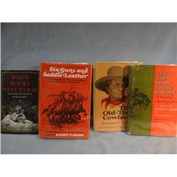 4 books: Manning, Adams, Zubel