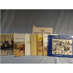 Collection of 8 books: Broder, Burk, Carroll, Chapin, Crouch