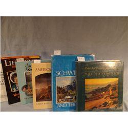 5 books: Tyler, Wakefield, Westphal, Ashby