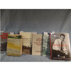 7 books: Athearn, Avon, Axline, Babcock