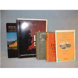 5 books: Betts, Bower, Brickett