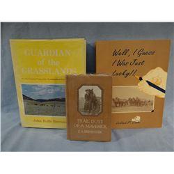 3 books: Brinistool, Burroughs, Cade