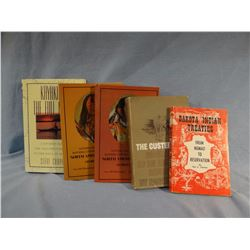 5 books: Catlin, Caras, Chapple, Clowser