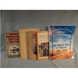 5 books: Drago, Dusenberry, Enss, Evans