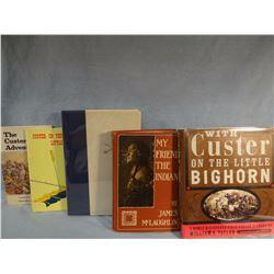 4 Custer books